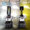 Новая 3 вида цветов Светодиодная лампа для замены фар/foglight H1 H3 H4 H7 H8/H9/H11 9005/9006/9012 880/881 3000 K/желтый 4300 K/Теплый 6000 K/белый