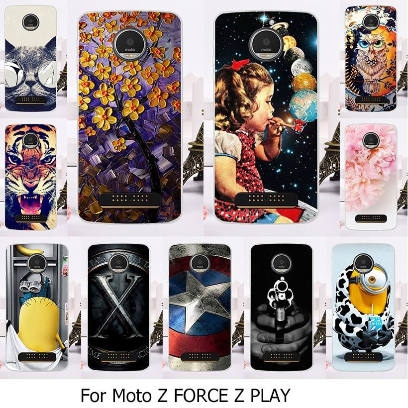Phone Case For Motorola Moto Z Force Droid Edition Verizon Vector maxx Z Play Droid 2016 Vertex Moto X 4 XT 1635-03 XT1635 Mo