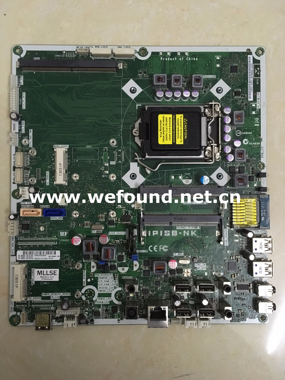 100% working desktop motherboard for 520 220 IPISB-NK 646748-001 696484-002 LGA 1155 With touch mainboard fully tested 636477 001 623914 002 desktop motherboard lga1155 h67 ipisb ch