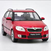 High Simulation 1:24 2009 Skoda Fabia Combi ll car model,high quality die cast zinc alloy model,collection&gift,free shipping
