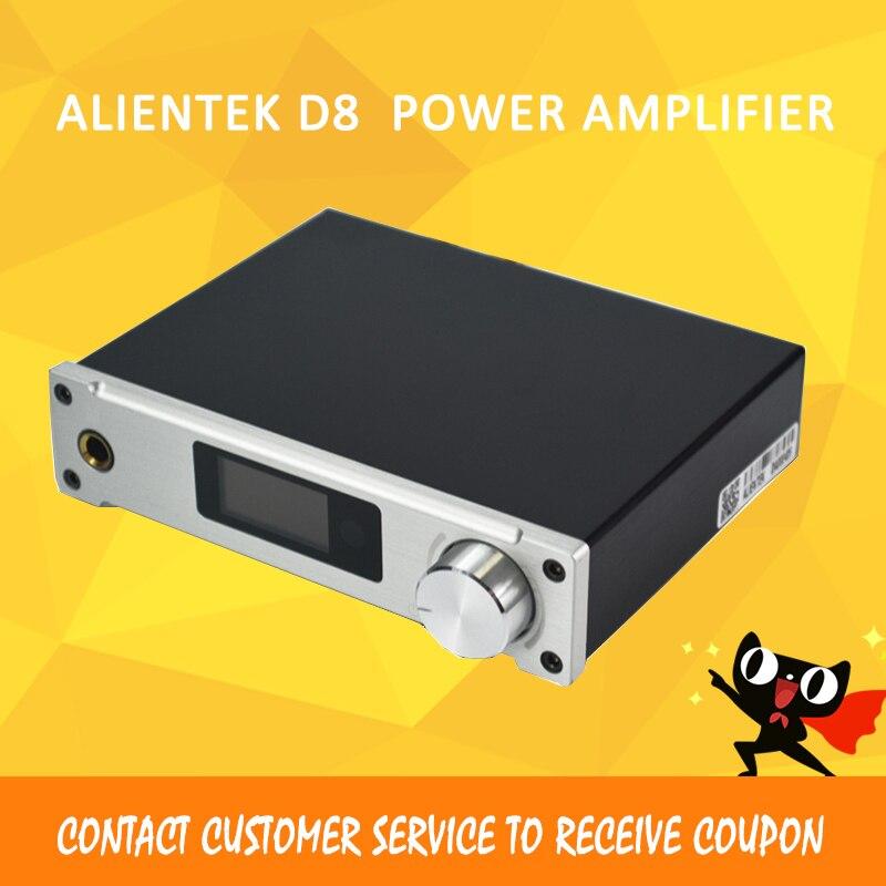 ASD Amplificatore in Classe D ALIENTEK D8 Piena Puro Digitale HiFi Amplificatori Stereo USB Coassiale Ottico di Potenza Audio Amplificador PCM2704
