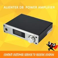 ASD Amplifier Class D ALIENTEK D8 Full Pure Digital HiFi Stereo Amplifiers USB Coaxial Optical Audio Power Amplificador PCM2704