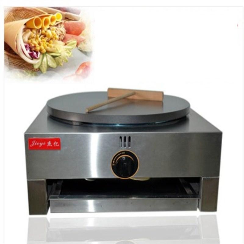 1PCS High quality LPG pancake griddle stove,commercial pancake machine, pancake stove 1pcs new arrival 40cm pan pancake griddle stove lpg commercial pancake machine pancake stove ship to your home