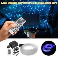 Smuxi LED RGBW 16 W תקרת כוכב ניצוץ סיבים אופטי מנוע Plug ארה