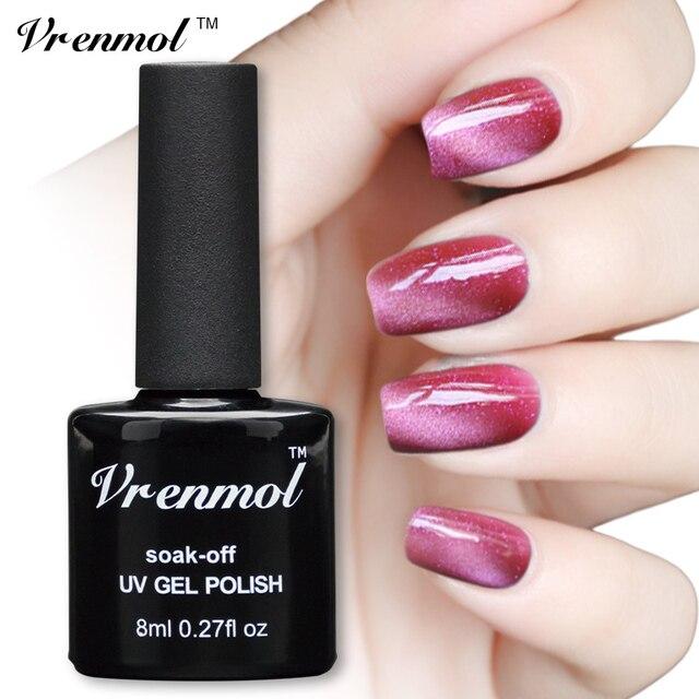Vrenmol 1pcs UV LED Gel Cat Eye Gel Nail Polish For Gel Nail Cat ...