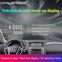 2019 Новый OBD2 автомобилей HUD с полными функциями Head Up Дисплей для Nissan Patrol левой Drive