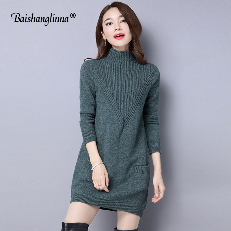 autumn winter women knitting dress 2017 long sleeve sexy high quality knitted dress slim bodycon. Black Bedroom Furniture Sets. Home Design Ideas