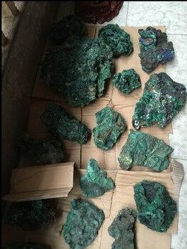 500g  Natural malachite piedra Original de piedra roca minerales venta al por mayor