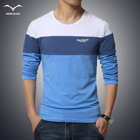 Men S Clothing Tops Tees T Shirts 2016 Spring New Fashion Brand Men Clothes Solid Color