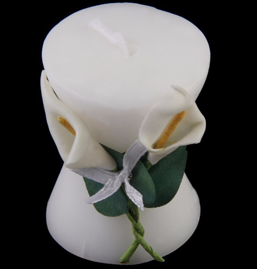 Pure-White-Calla-Lily-Elegant-Vase-Shaped-Candle-Beautiful-Romantic-Wedding-Bridal-Shower-Party-Favor-Decor