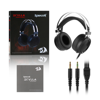 Redragon SCYLLA H901 Gaming Headphones Gamer Surround Pro Wired Computer Stereo headset Earphones With Microphone For PC PS4 6