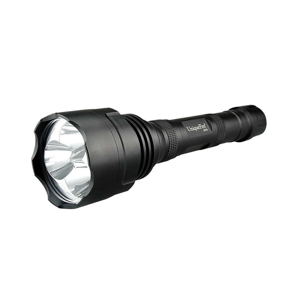 Uniquefire 3*XM-L T6 3800LM 5 Mode LED Flashlight Torch For 3x 18650 Battery Hand Torch Light Free Shipping лидия чуковская прочерк
