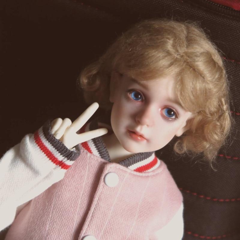 Бесплатная доставка BJD куклы Dollshe Rosa классический 1/4 г 6 г довольно невинный высокое качество смолы девушка игрушечные лошадки Best подарок DS
