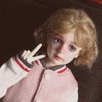 Бесплатная доставка BJD куклы Dollshe Rosa классический 1/4 6 г довольно невинных Высокое качество Смола Девушка игрушки лучший подарок DS Oueneifs