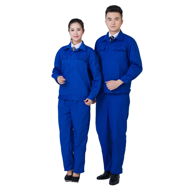 Twill thicken Men Women Work Clothing Sets Unisex Workwear SuitsLong Sleeve Jackets+Pants Factory Repair Workers Uniforms 4 colors 2016 summer unisex popular breathable work clothing short sleeve workwear absorbent comfortable clothes for factory