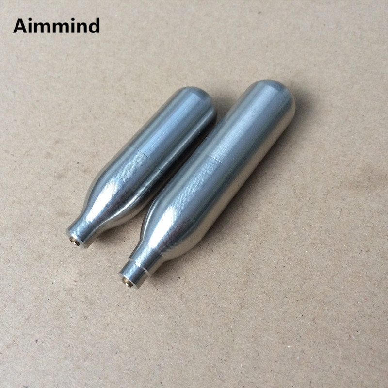 Capsule Cartridges Refill Gas-Cylinder Airgun Shooting Paintball Airsoft 8g Co2 Rechargeable