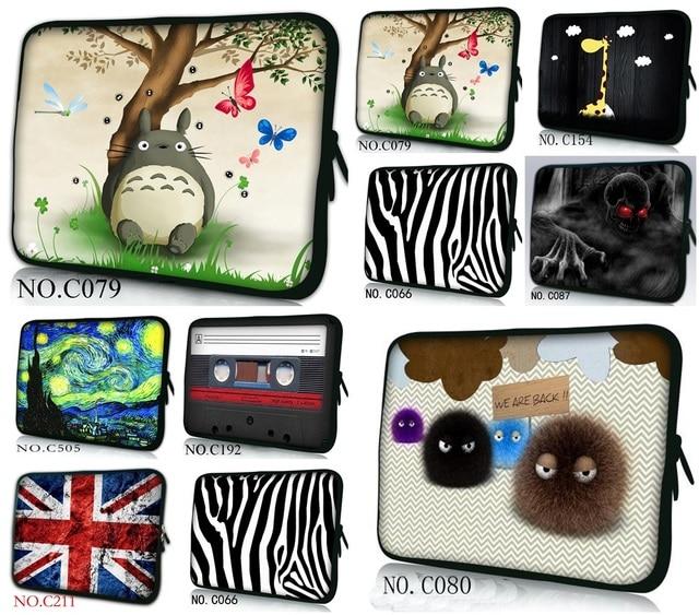 77cdc52c1bb1 US $8.79 20% OFF Customized Design soft neoprene laptop sleeve handle bag  10.1