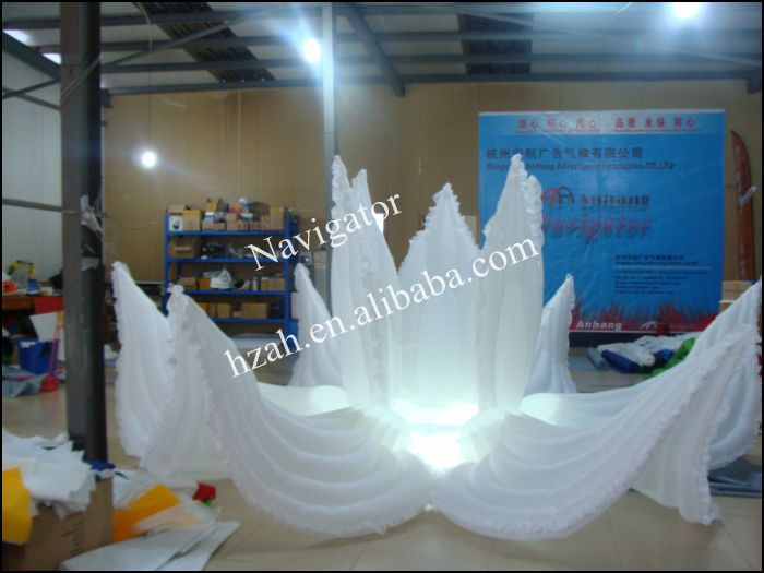 Big Inflatable Flowers For Wedding Decoration