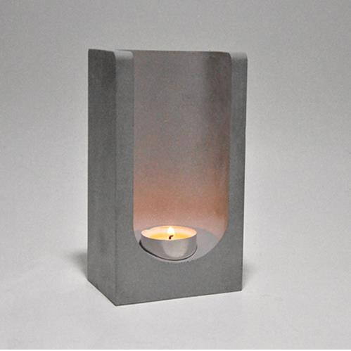 Творческий бетонный подсвечник силиконовые формы плантатора цемента подсвечник домашнего офиса украшение ароматерапия свечи чашки формы