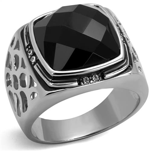 Stainless Steel Ring high polish plated Europe and United states style Rings for men free shipment Full size 8, 9,10, 11, 12