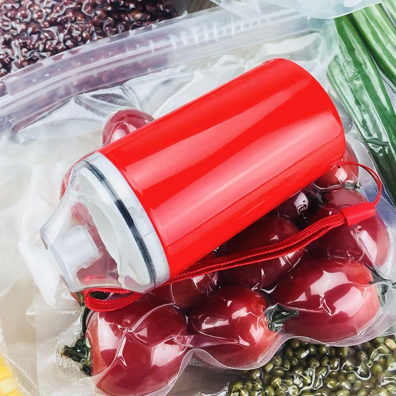 Handheld Vacuum Sealer Machine Food Saving Freshing Portable Mini Sealing Vacuum Pump