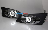 Top Quality Angel Eye E13 Projector Lens Fog Lamp 6 Colors Led Daytime Running Light For