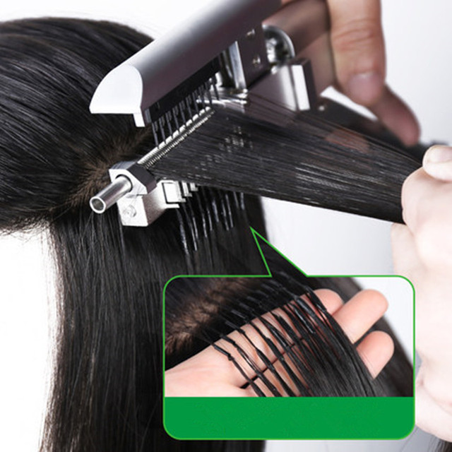 2018 in New high end Professional 6D Hair Extensions Tool .No glue ...