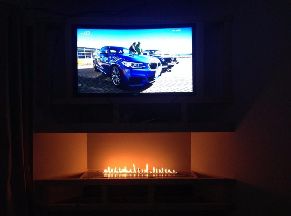 Inno-living 48 Inch TV Fireplace Bio Ethanol Burner