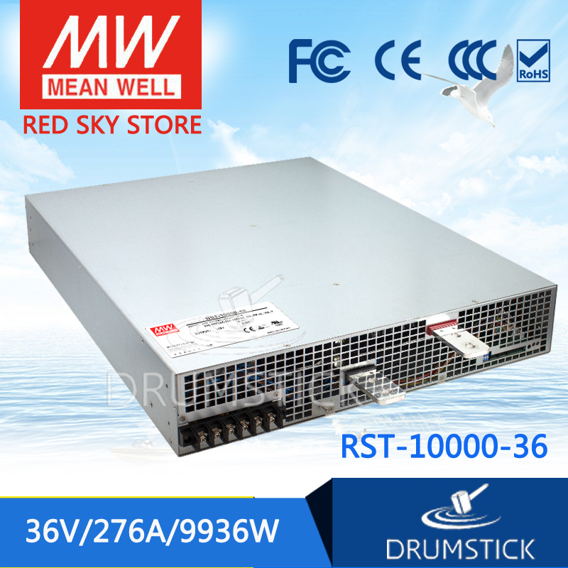 MEAN WELL RST-10000-36 36V 276A meanwell RST-10000 36V 9936W Single Output Power Supply цены онлайн