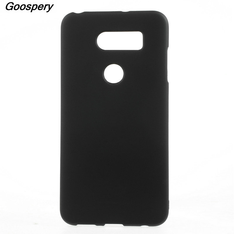 For LG V30 Case Original MERCURY GOOSPERY Matte Skin TPU Phone Shell Case for LG V30 6.0 Inch Silicone Back Cover