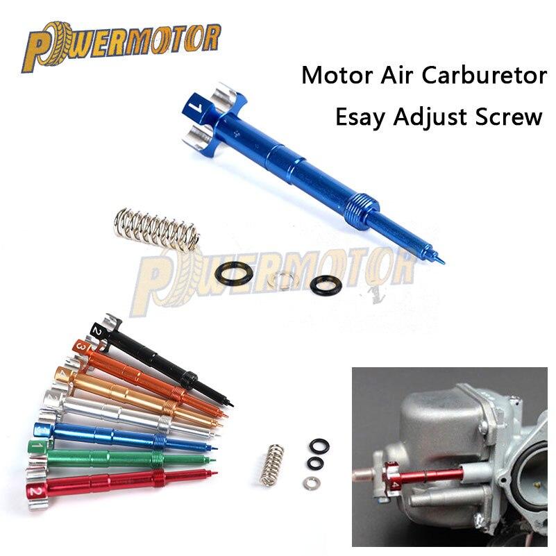 Motorcycle Carb Motor Dirt Bike Carburetor Easy Air Fuel Mixture Adjuster Screw
