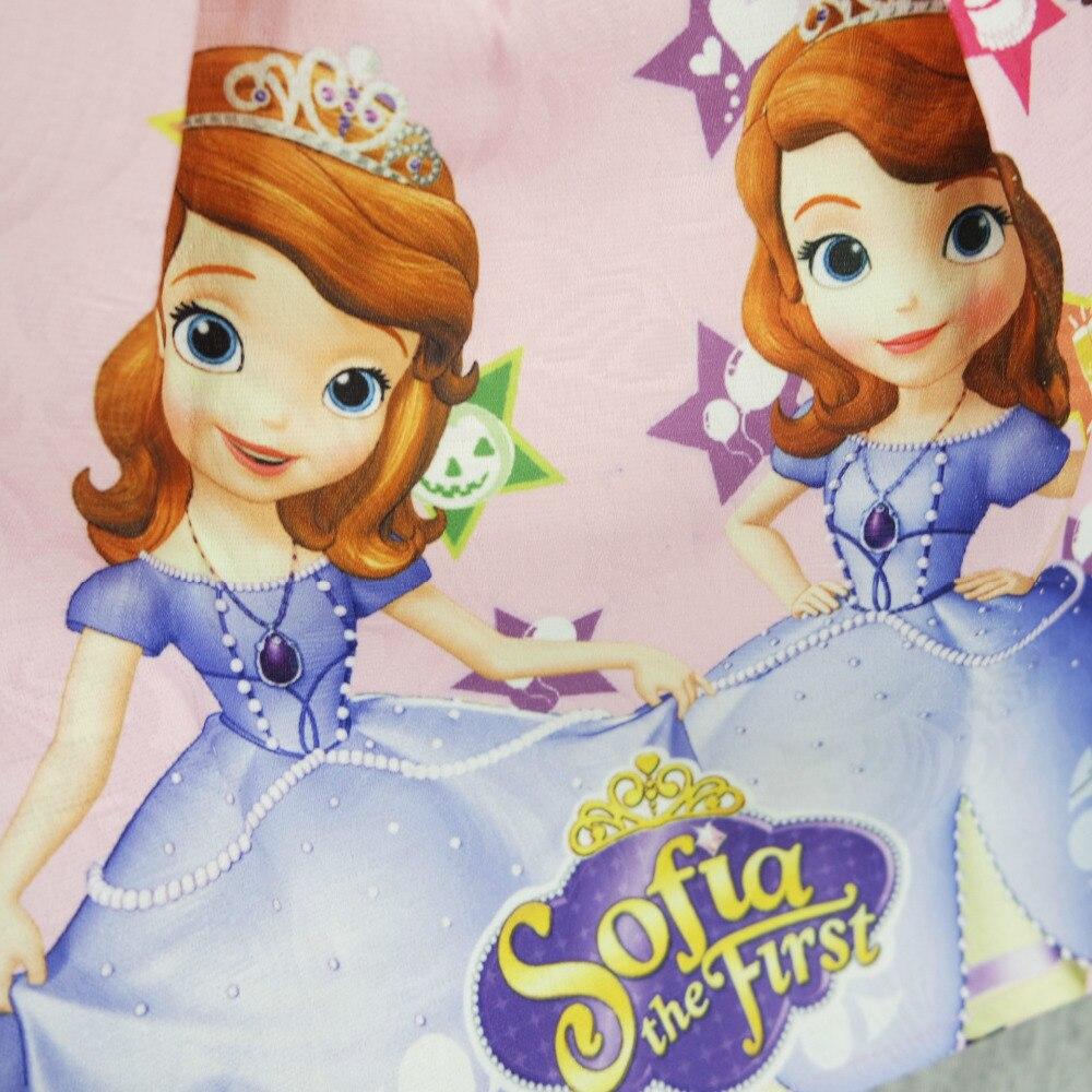 Cartoon Sofia die Erste Baby Mädchen Kleid Hohe qualität Kinder ...