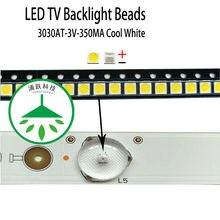 Yongyuekeji 100 шт/лот новая светодиодная подсветка для телевизора