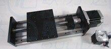 Gx155 * 150 1605 раздвижной стол полезный ход 800 мм направляющая xyz axis linear motion + 1 pc нема 23 шагового мотор двойной блок