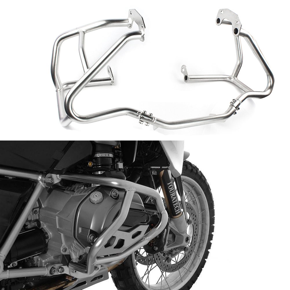 Silver Engine Highway Guard Lower Protection Tank Bar Crash Bar For 2013-2018 BMW R1200GS R 1200 GS 2014 2015 206 2017