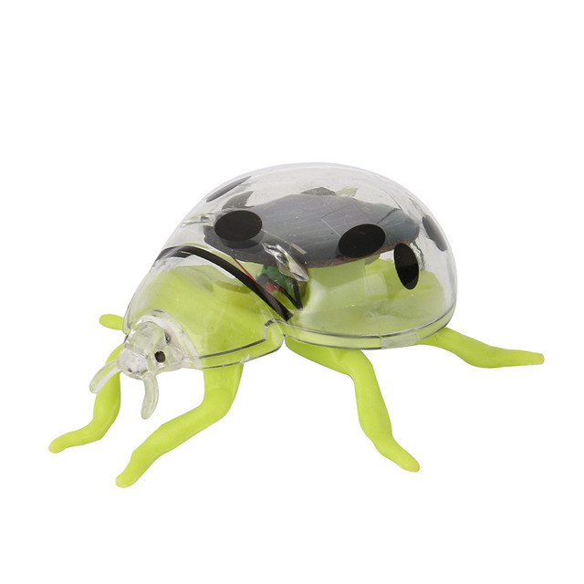 Solar Toys Solar Powered Shaking Random Ladybug Toy For Kids Solar Energy Educational Toy Toy Gift  For Kids #40 5