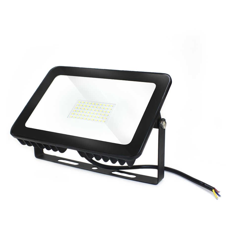 Прожектор светодиодный открытый 10 Вт 30 Вт 50 Вт 100 Вт проектор Spotlight Водонепроницаемый IP66 220 В foco светодиодный снаружи для квадратный освещение сада