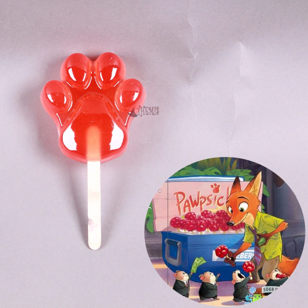 Athemis Zootopia Cosplay Accessories  Nick Cosplay Ice Lolly  Toy