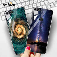 Tempered Glass Case For Huawei P20 Pro P30 Lite P Smart Mate 20 Cases Silicone Cover for Huawei Y9 Y5 Y6 2019 Y7 Prime 2018 Case