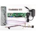 HDMI CVBS РФ USB VGA Аудио Видео LVDS ТВ PC Плате Контроллера + 40 P Lvds Кабель Наборы для LP156WH4 1366x768 канал 6 бит ЖК-ДИСПЛЕЙ дисплей