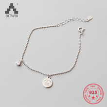 sa silverage 925 sterling silver round bracelets 925 Sterling Silver Zircon Bracelets Women Trending Round love always being at last Tag Bracelets & Bangles Jewelry