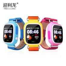 2016 Цветной сенсорный экран Q90 Q80 Q50 Smart Watch SOS Вызова расположение Finder Locator Устройства GPS Трекер Малыш Сейф Анти Потерянный Монитор