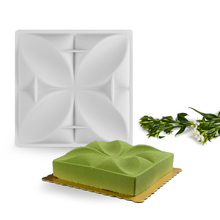 3D Silicone Cake Mold Mousse Chocolate Dessert Cake Bakeware Pan  Muffin Tray Mold Non-stick Baking Geometry Shaped