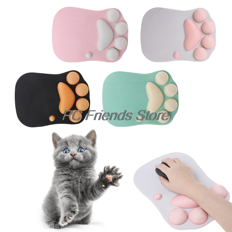 Cat Paw Originality Anime 3D mouse Pad Cartoon Creative Mousepad Wrist Rest-PC Friend ...