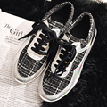 New fashion brand shoes genuine leather lace up increasing flat platform causal shoes elegant loafer preppy style sneaker 9-3