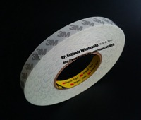 1x 20mm 50M 3M 9080 High Performance Nonwoven Double Coated Tape For Auto Bump Strip LED