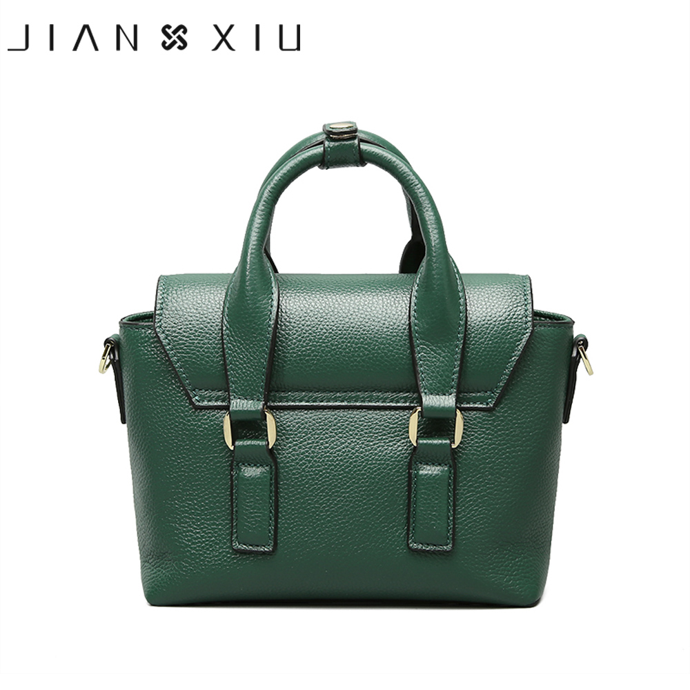 JIANXIU Brand Fashion Genuine Leather Bags Sac a Main Handbags Bolsos Mujer Bolsas Feminina 2018 Shoulder Crossbody Bag 2 Colors