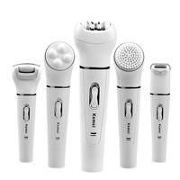 5 In 1 Women Shaver Wool Device Electric Shaver Razor Women Epilator Shaving Lady S Shaver