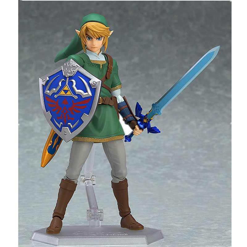 The Legend of Zelda: Twilight Princess Deluxe Edition PVC Action Figure Collectible Model Toy Boxed Christmas gifts for kids