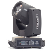 200W 5R Sharpy Beam Moving Head professional stage light